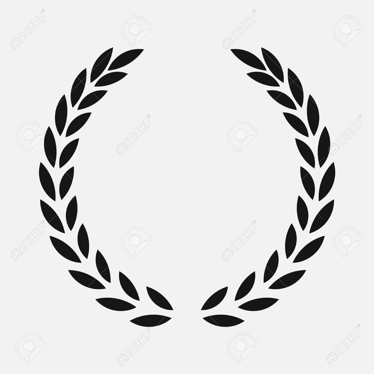 icon laurel wreath.