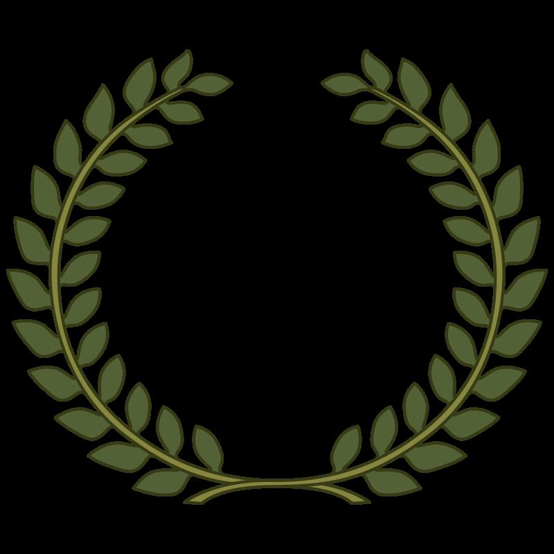 Free Clipart: Laurel Wreath, Laurel Leaf.