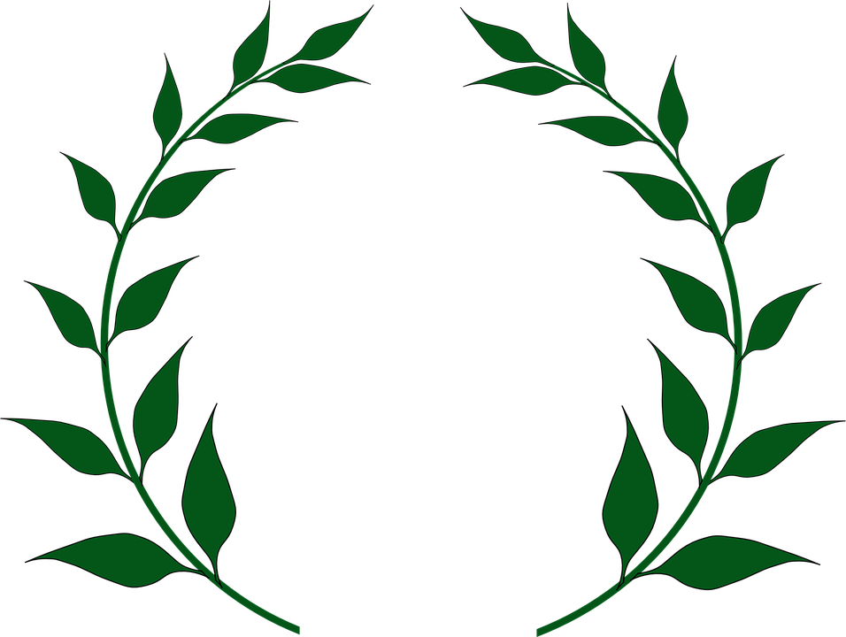 Laurel, Wreath.