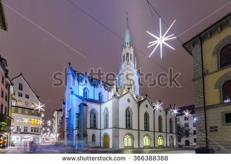 St Gallen Stock Photos, Royalty.