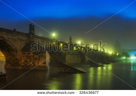 Foggy St Night View Stock Photos, Images, & Pictures.