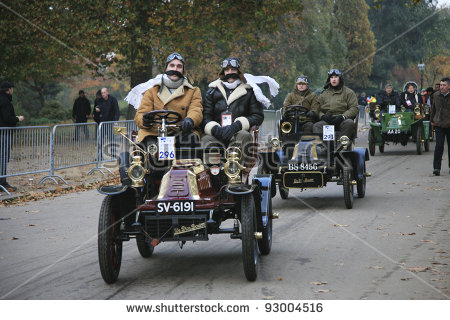 London To Brighton Veteran Car Run Stock Photos, Royalty.