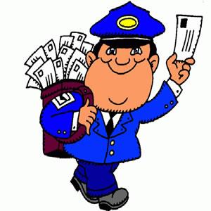 Postman Clipart.