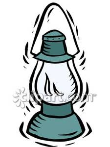 Camping lantern clipart.