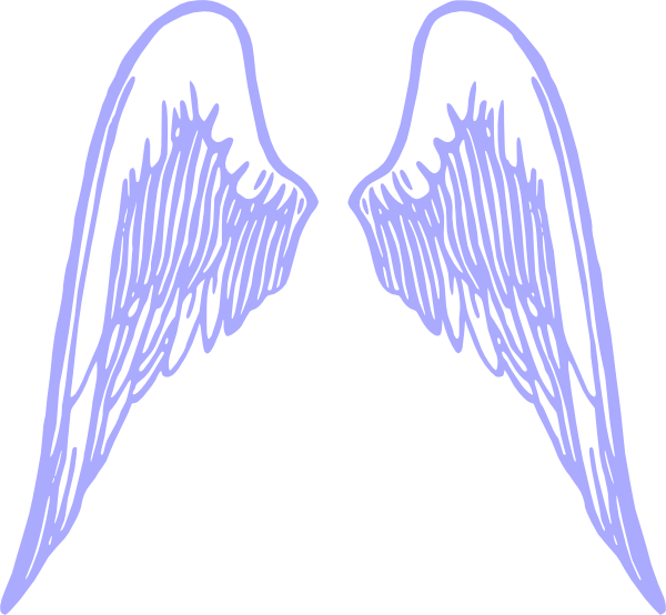 Lav Wings Clip Art at Clker.com.