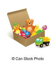 Clip Art Toy Bin Clipart.