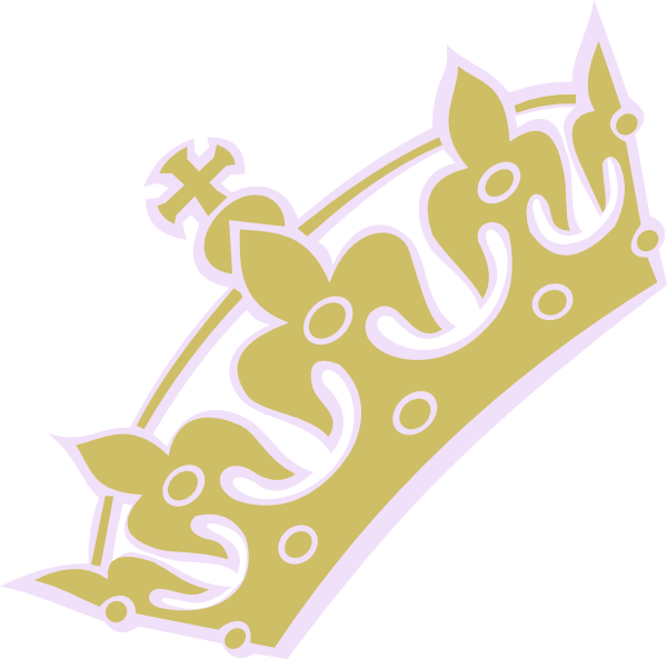 Gold Lav Tiara Princess Clip Art at Clker.com.