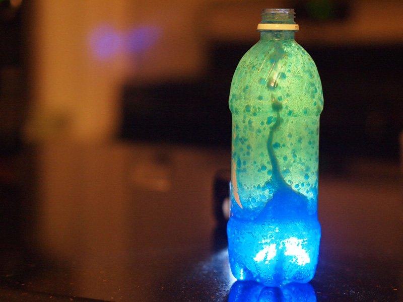 Make a space lava lamp.