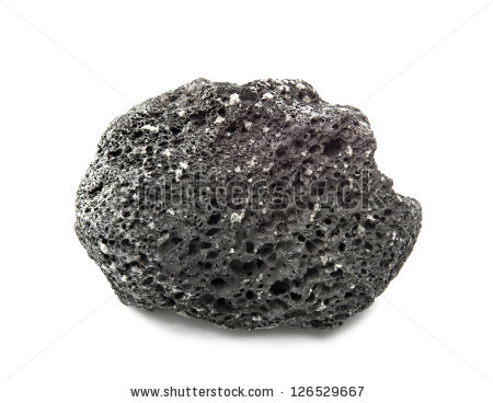 Black Volcanic Rock Stock Images, Royalty.