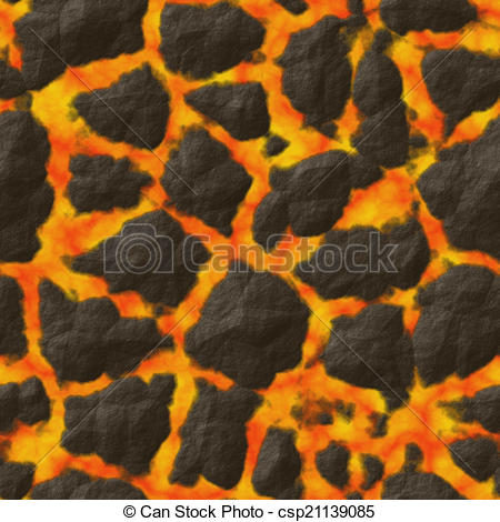 Stock Illustration of Lava stones abstract seamless generated.