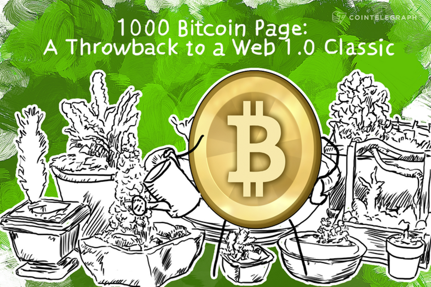 1000 Bitcoin Page: A Throwback to a Web 1.0 Classic.
