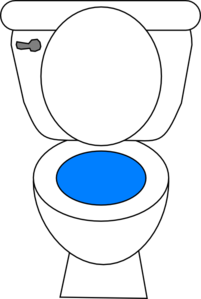 Toilet Seat Clipart.