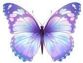 Lavender butterfly clipart » Clipart Portal.