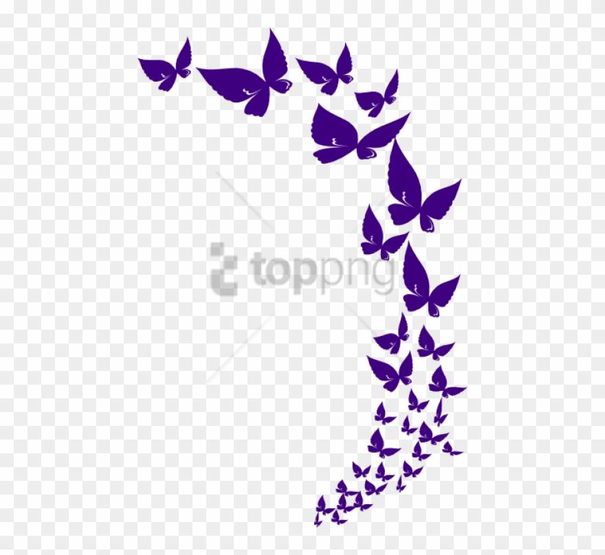 Free Png Butterflylavender.
