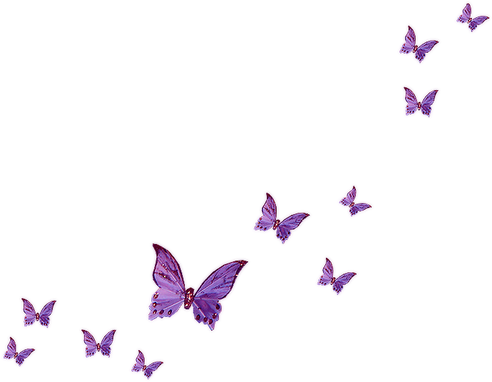 HD Lavender Butterfly Clipart.