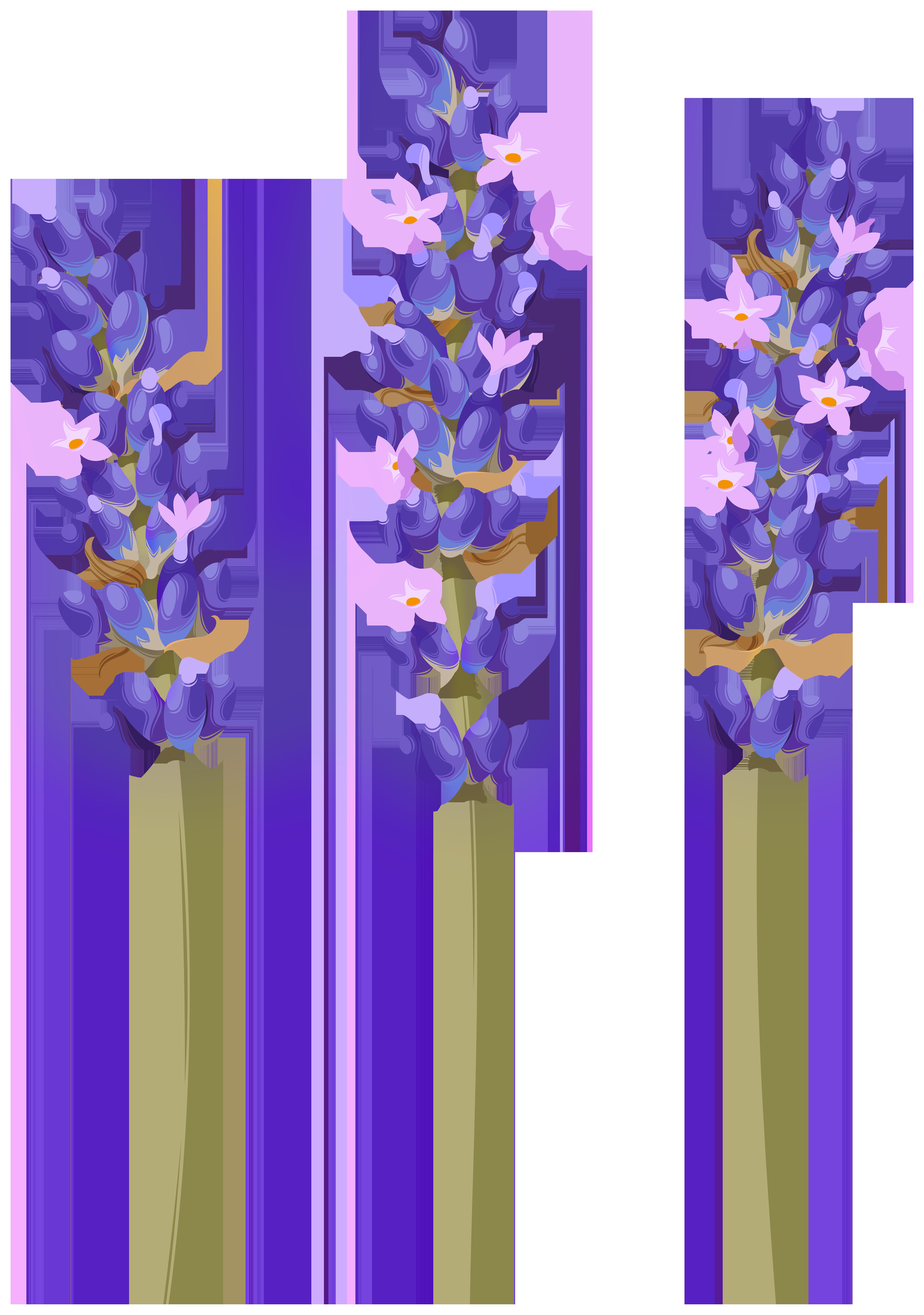 Lavender Flower PNG Clipart.