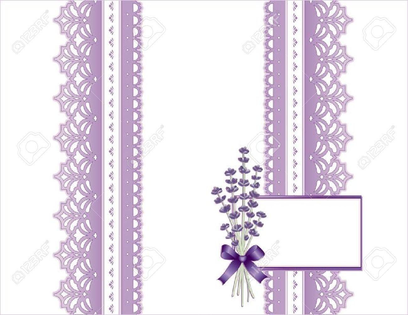 Vintage Lace, Victorian Style, Pastel Violet, Sweet Lavender.