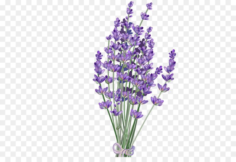 Purple Watercolor Flower.