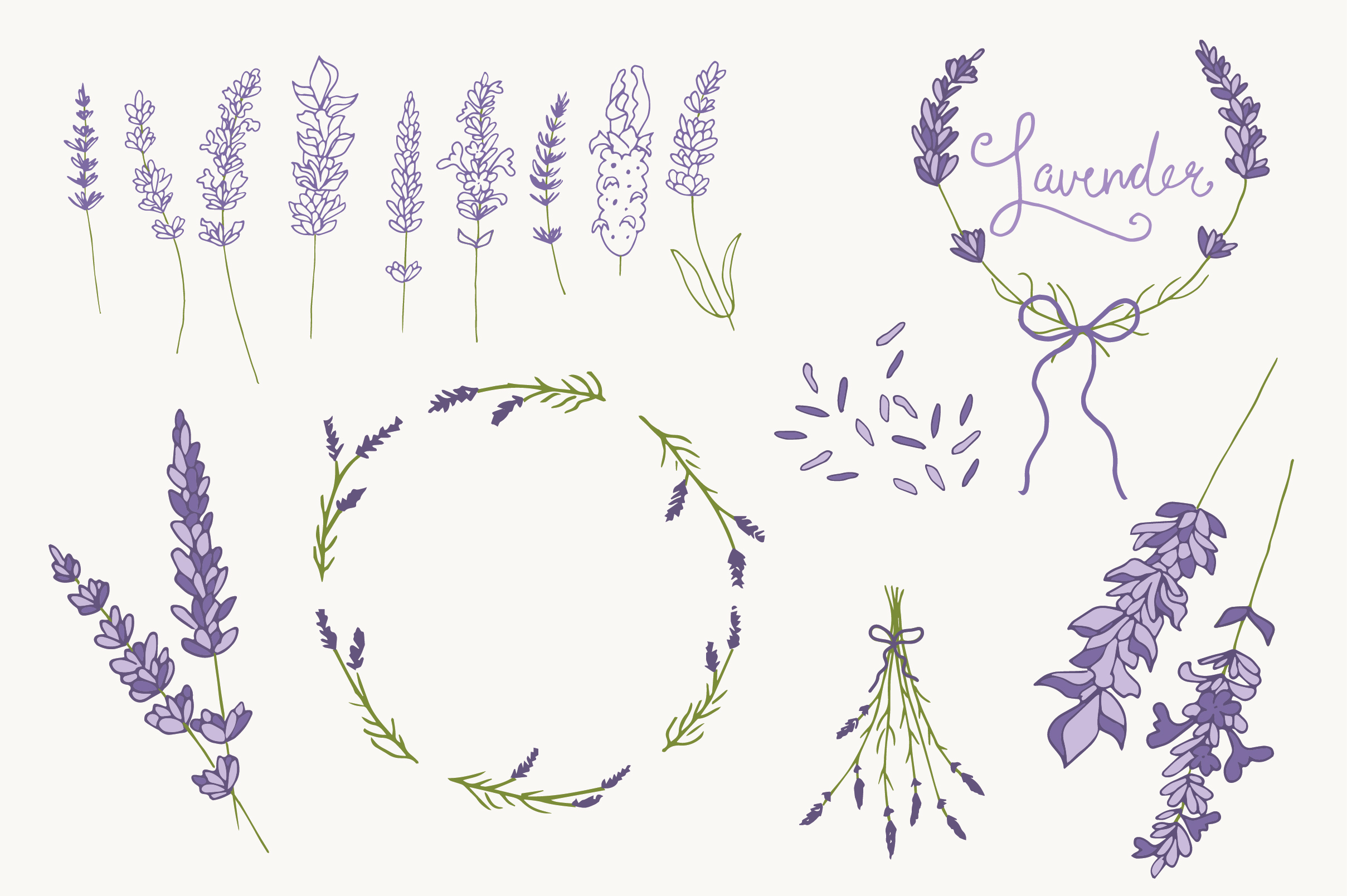 Lavender Vector Free at GetDrawings.com.