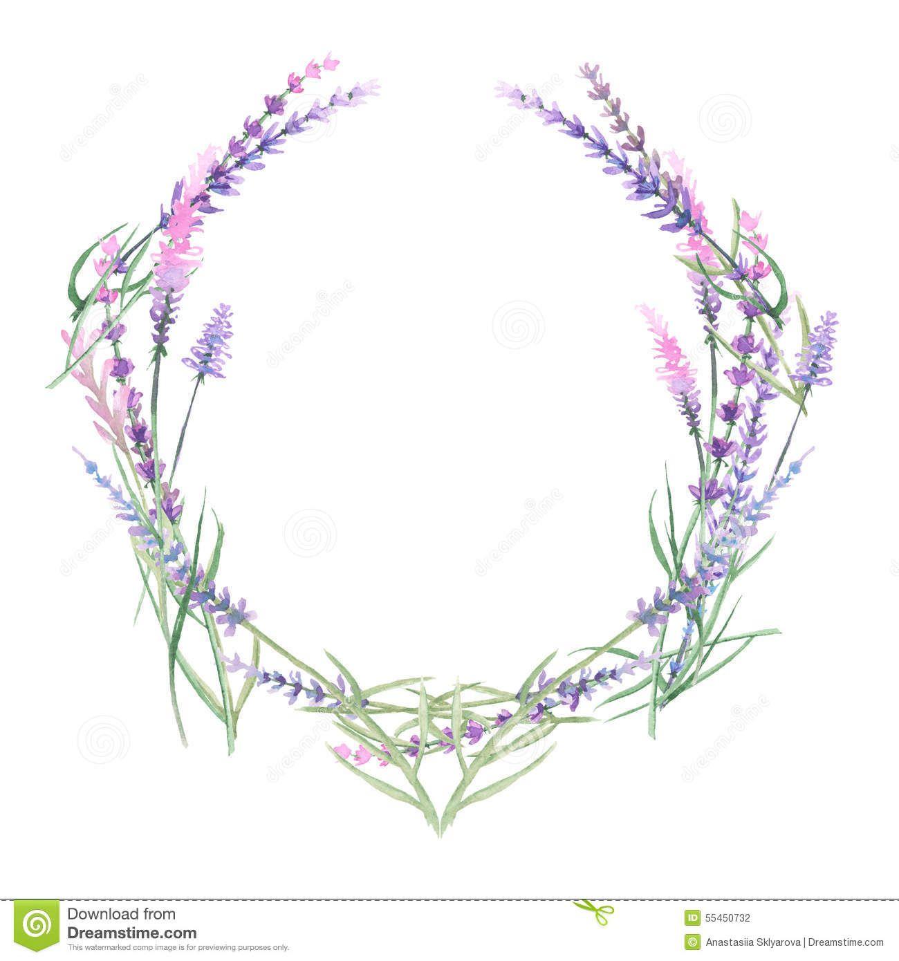Wreath Of Lavender.