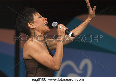 Stock Photography of Bettye Lavette sings her heart out at the.