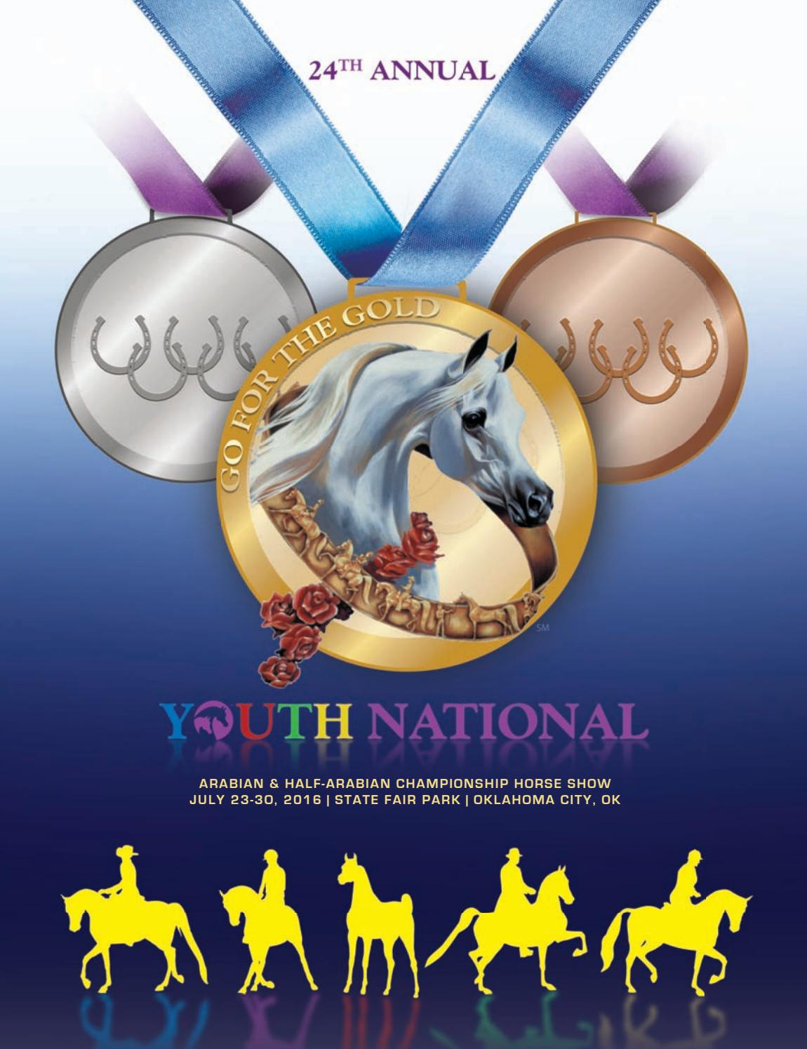 2016 Youth Nationals Show Program by Arabian Horse Times.