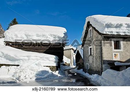Stock Photograph of Switzerland, Lavizzara valley, Peccia. x8j.