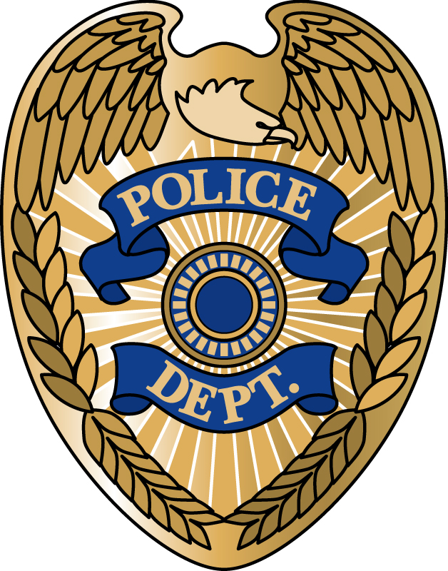 Law enforcement badges clipart.