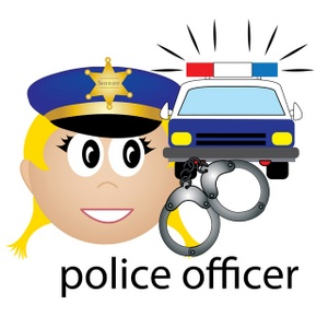 Law Enforcement Clipart Image.