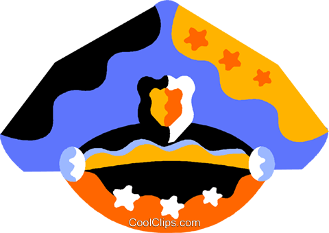 Law Enforcement Symbols Royalty Free Vector Clip Art.