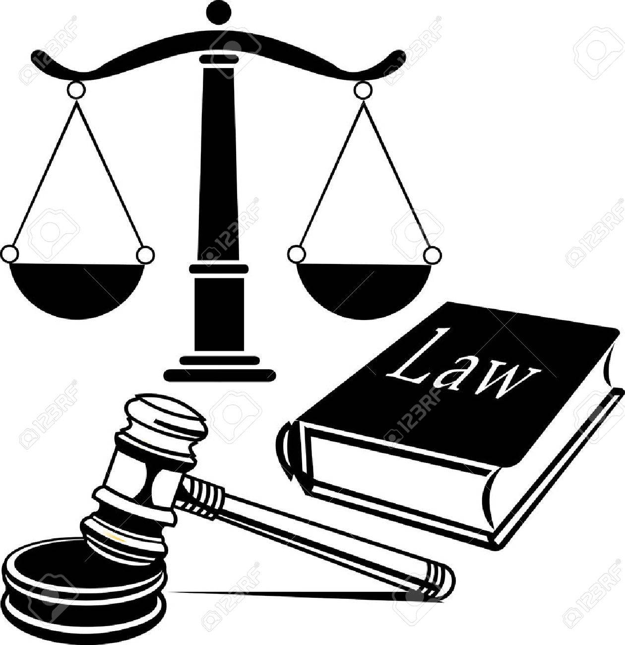 Law firm justice scale.