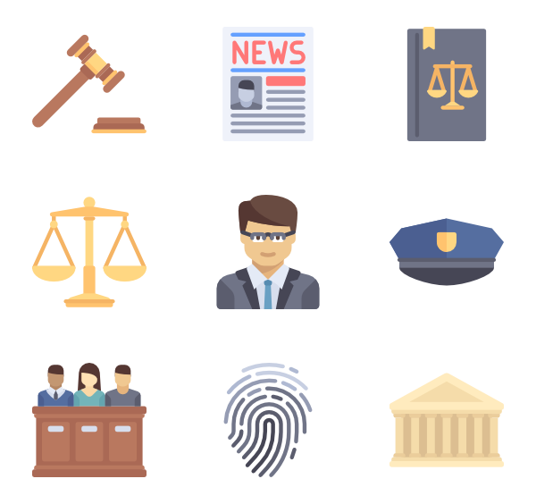 Law Icons.
