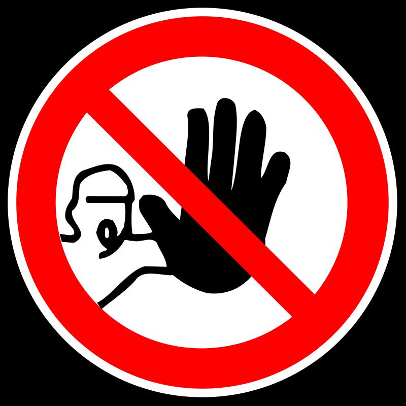 Prohibition Clipart.