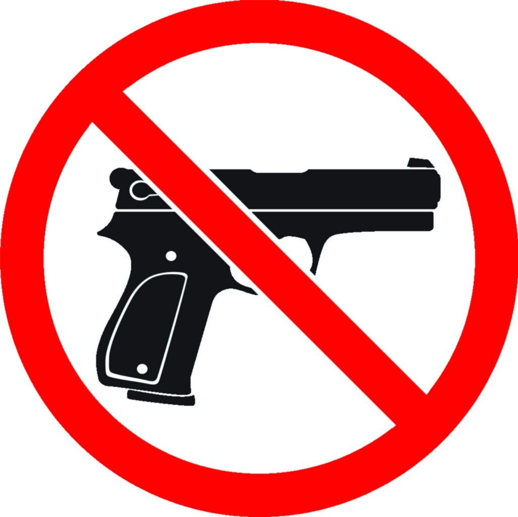 Texas Gun Law Changes and Guns Not Allowed Signage.