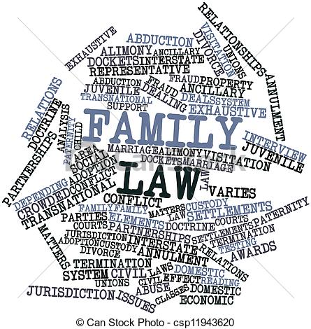 Clip Art of Family law.
