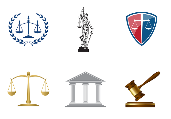 Classic Law Office Vector.