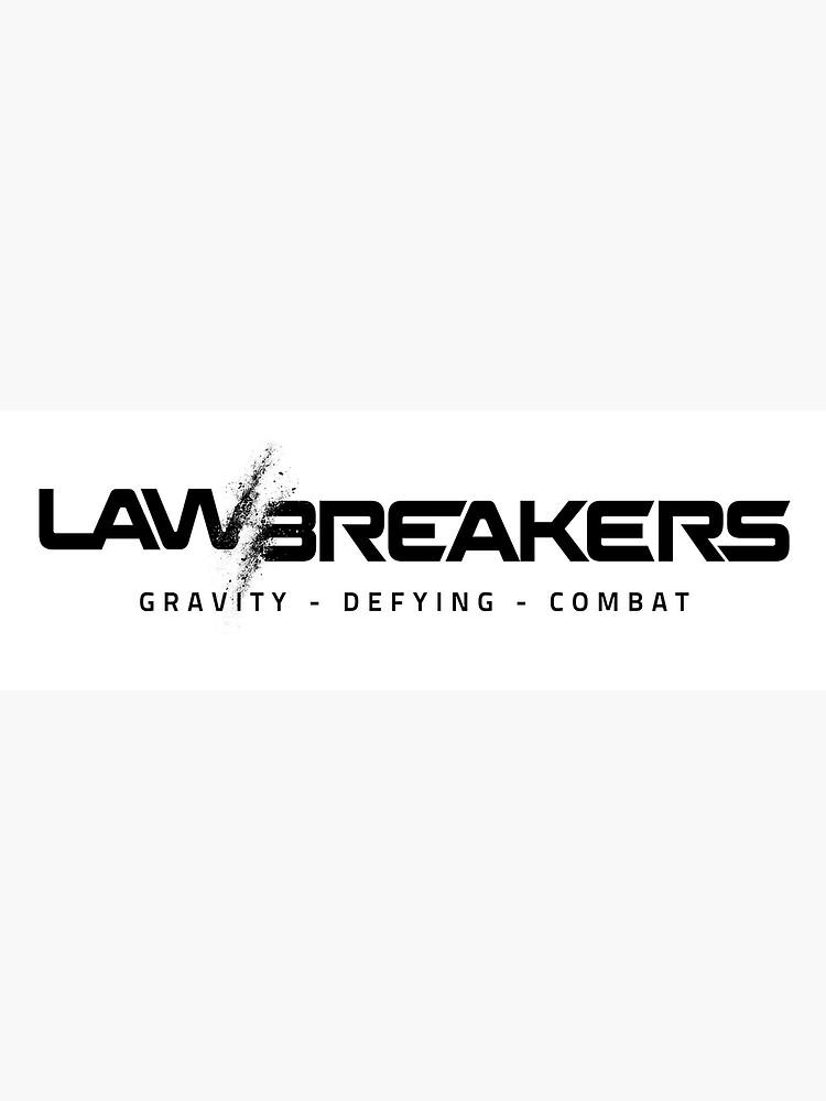 LawBreakers Logo Black.