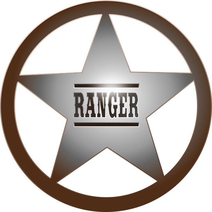 Free vector graphic: Ranger, Badge, Cowboy, Lawman.
