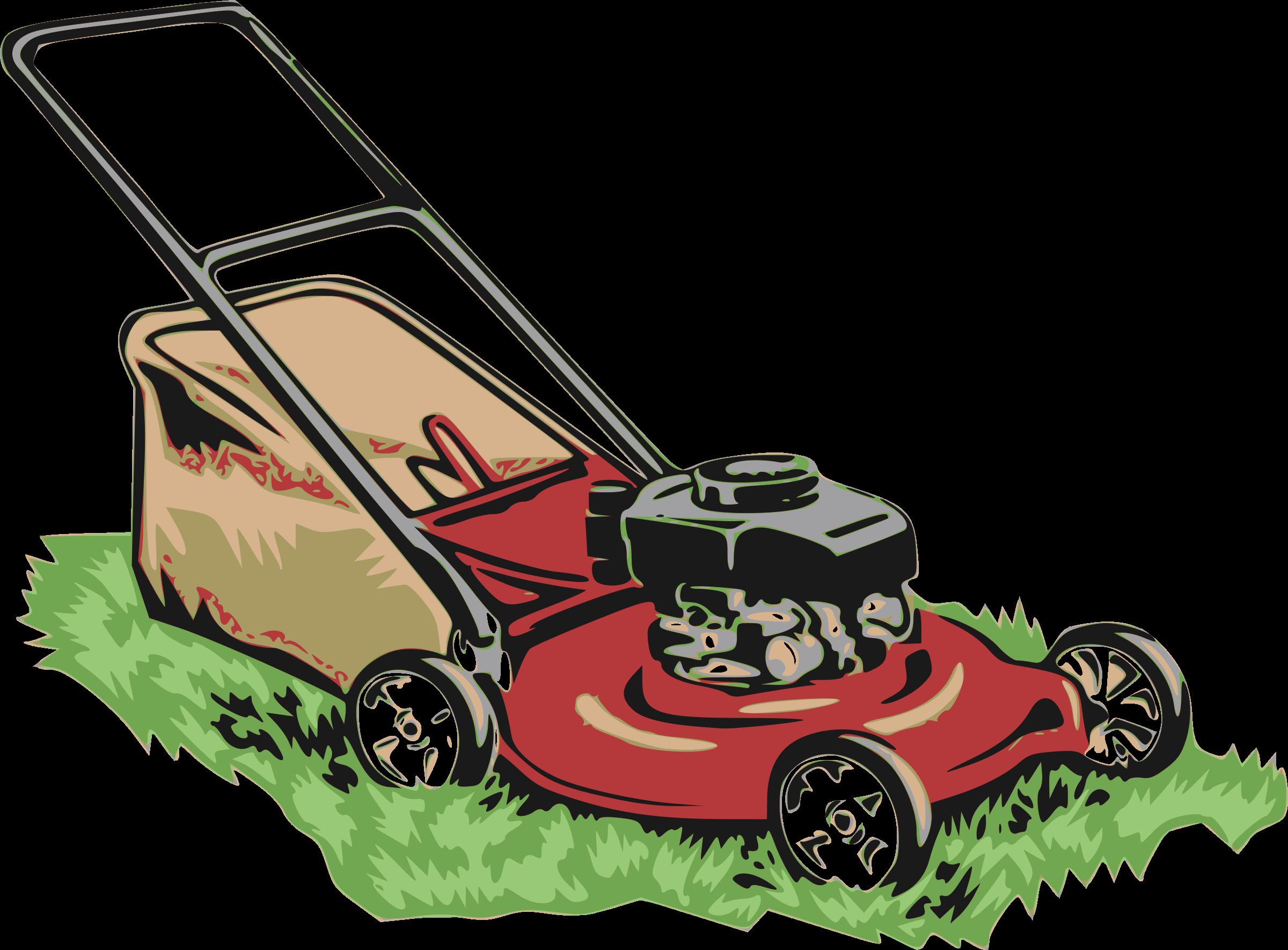 Gardening clipart lawn garden, Gardening lawn garden.