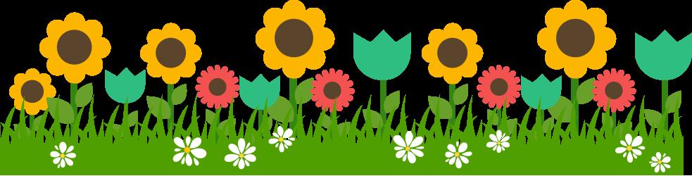 Simple Garden Clipart.