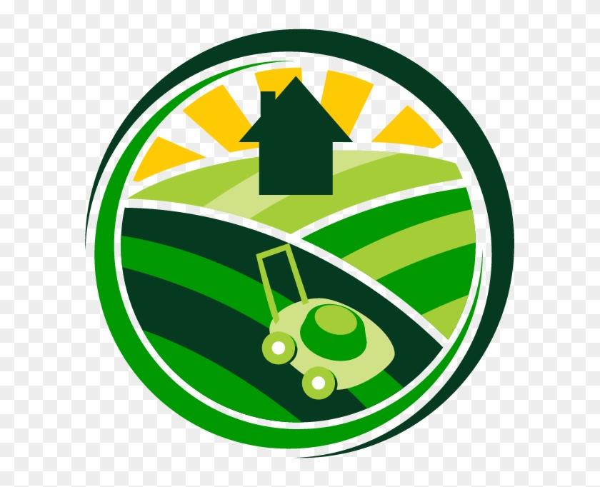 Straight Edge Lawn Care Logo.