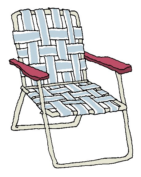 70+ Lawn Chair Clip Art.