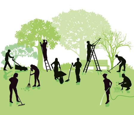 1,876 Lawn Maintenance Stock Illustrations, Cliparts And.