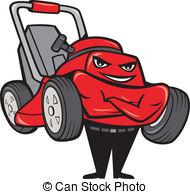 Lawn mowers Clipart and Stock Illustrations. 1,641 Lawn mowers.