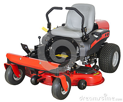 Riding Lawn Mower Royalty Free Stock Photos.