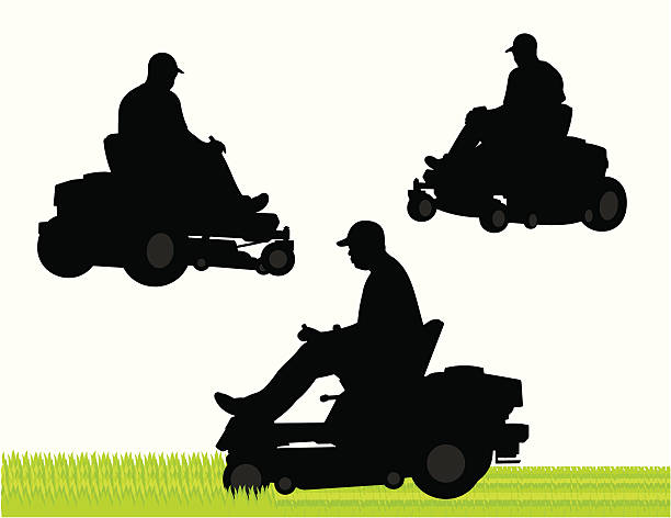 Best Lawn Care Service Illustrations, Royalty.