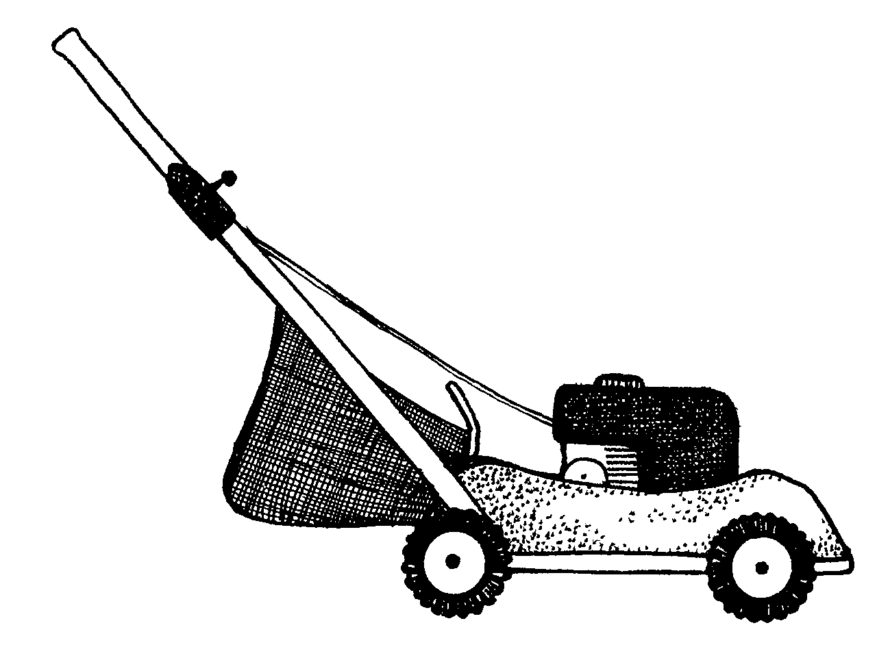 Free lawn mower clip art clipart.