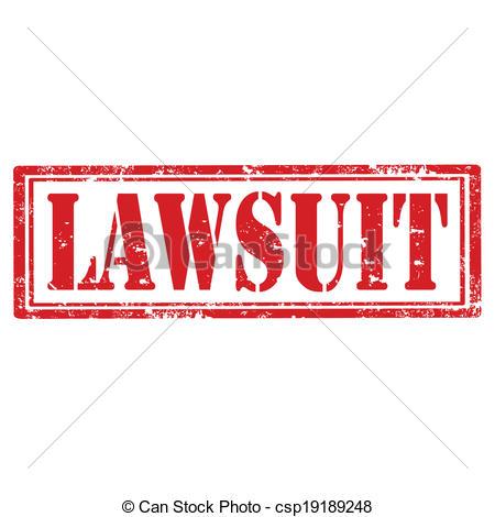 EPS Vector of Lawsuit.