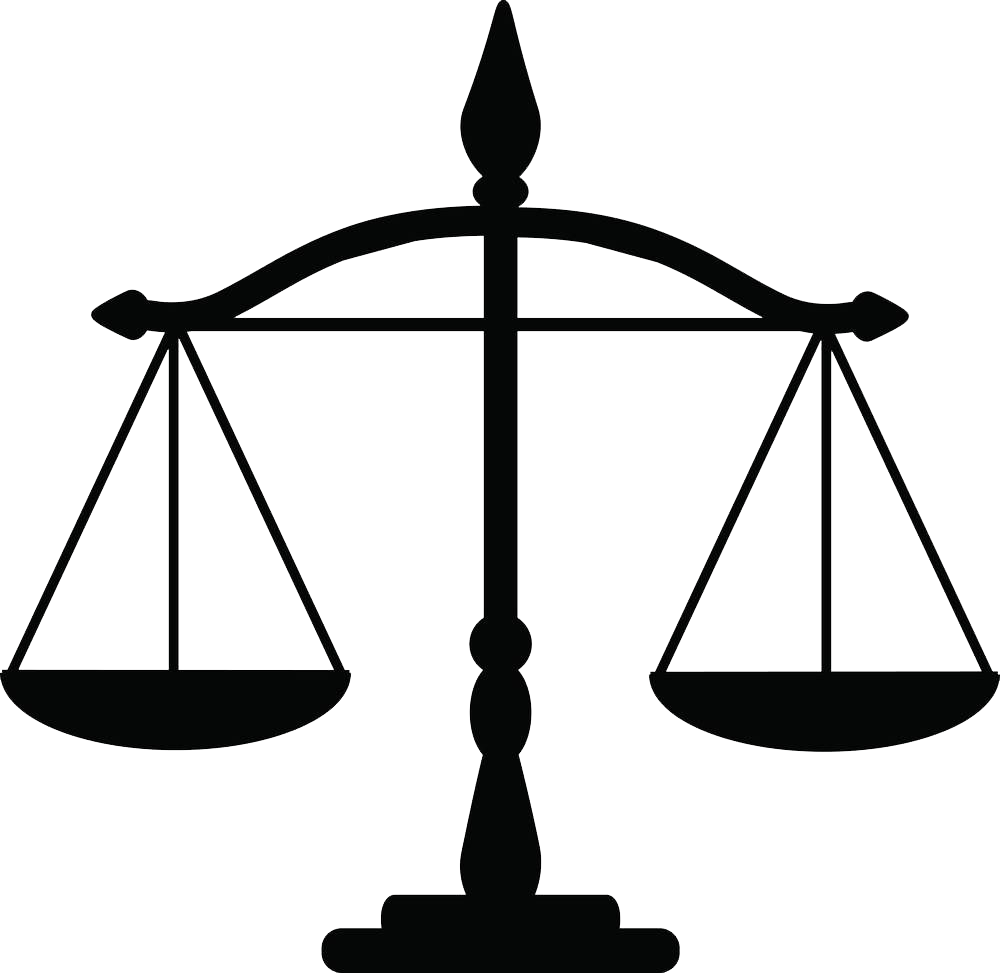 HD Justice Weighing Scale Law Clip Art.