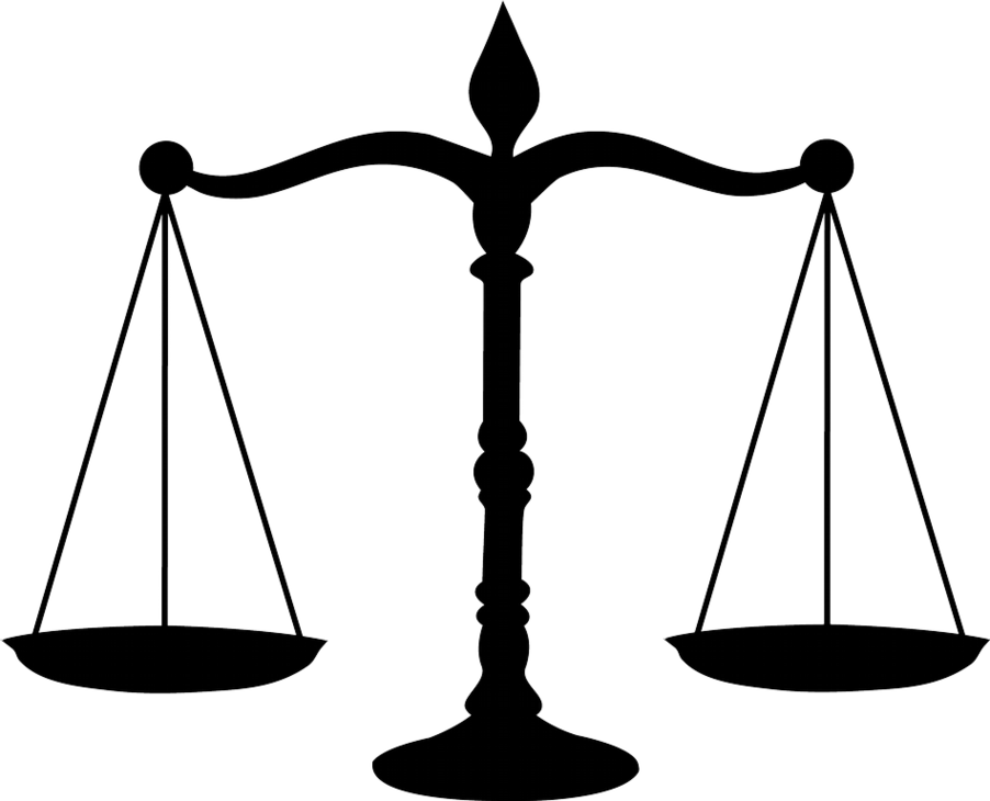 Clipart lawyer symbols.